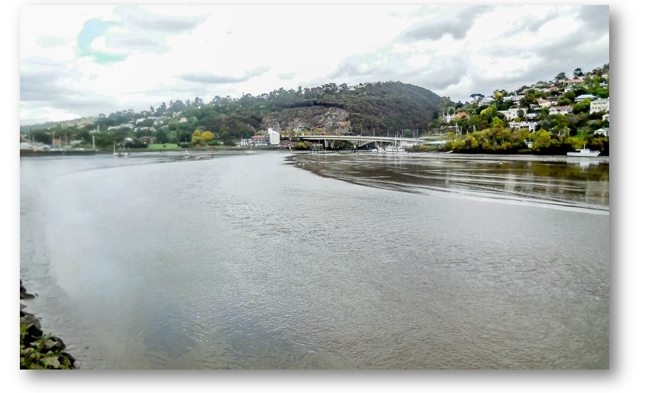 Once again back looking towards Cataract Gorge where the South Esk river flows from.