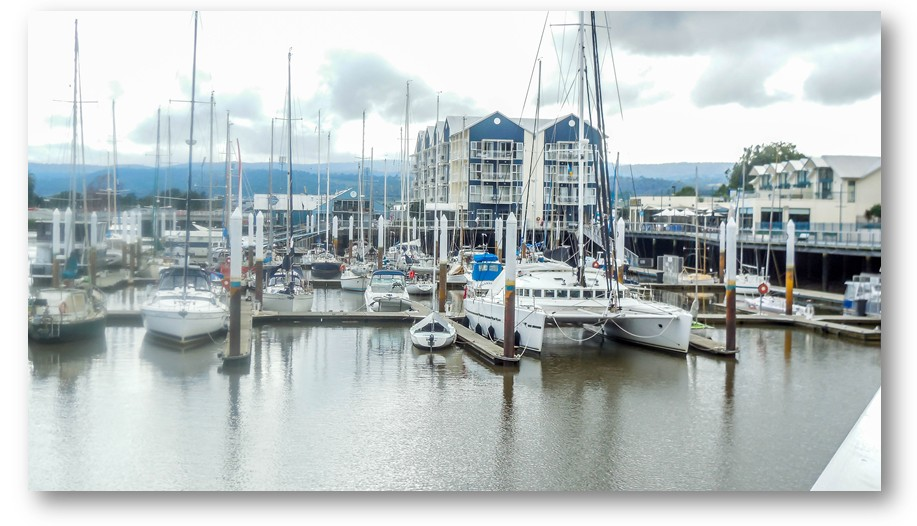 Peppers Hotel and boat marina